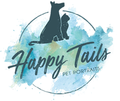 Happy Tails Portraits Logo